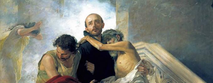 St. John of God saving the Sick from a Fire at the Royal Hospital by Manuel Gómez-Moreno González - Museo de Bellas Artes de Granada – Granada, Spain