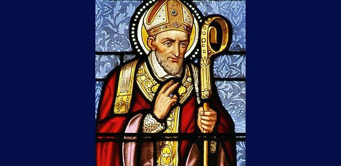 St. Alphonsus Liguori stained glass - Carlow Cathedral, Carlow, Ireland