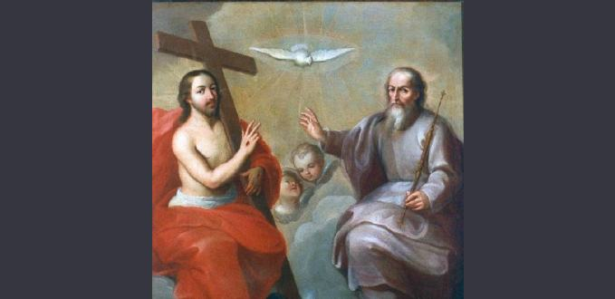 The Holy Trinity by Miguel Cabrera - Tucson Museum of Art – Tucson, AZ