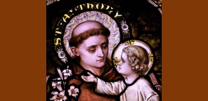 St. Anthony of Padua stained glass