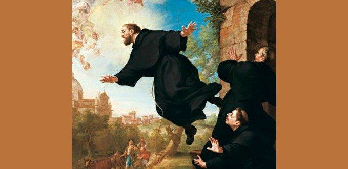 St. Joseph of Cupertino by Ludovico Mazzanti - Church of Saint Joseph of Cupertino, Osimo, Italy
