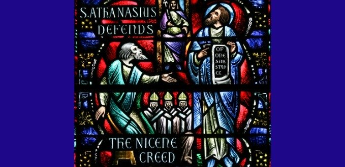 Nicene Creed stained glass – Grace Cathedral – San Francisco, CA